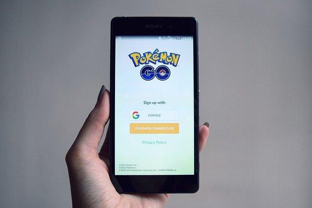 mobilní hra Pokémon