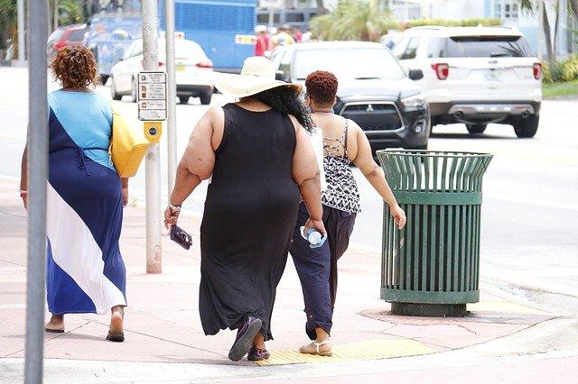 Obezita je rozšířená