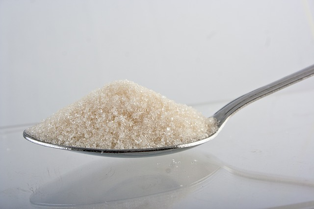 cukr na lžíci