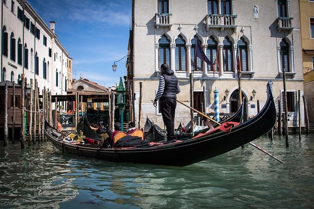 gondola ve Venice