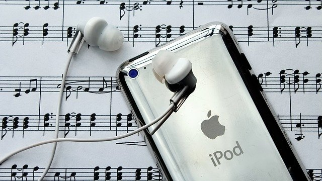 ipod a sluchátka