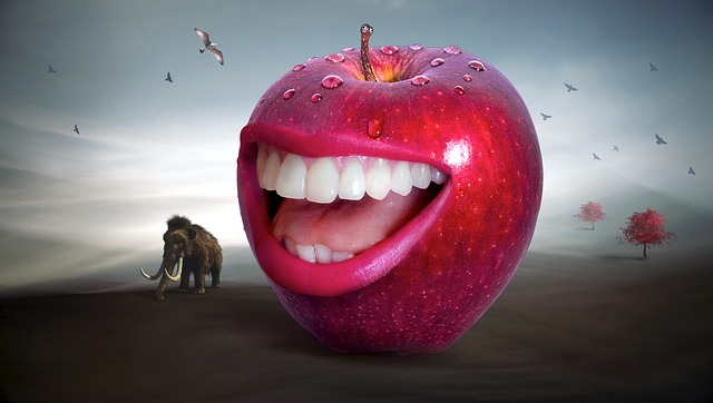 jablko a mamut