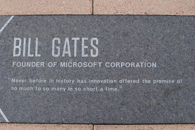 památník Billa Gatese
