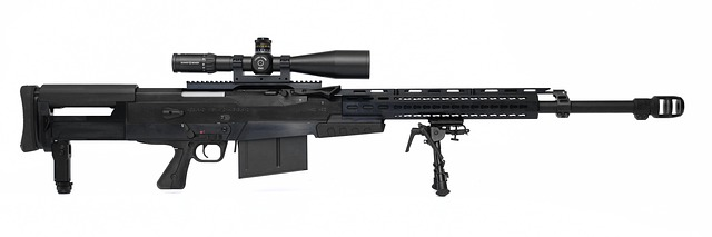 poloautomatická puška