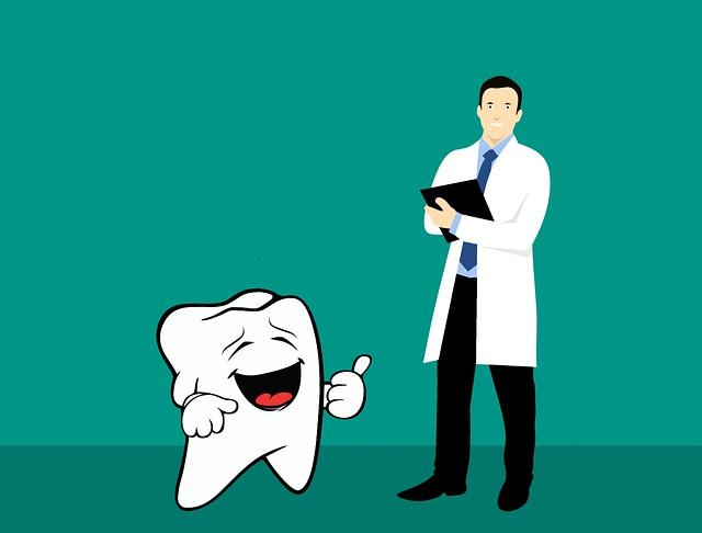 zubař a zub