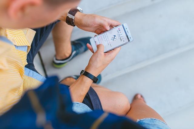 smartphone ke tvorbě webu