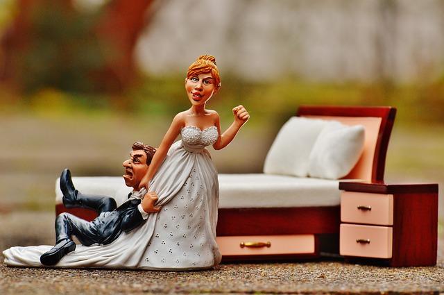 figurky novomanželů
