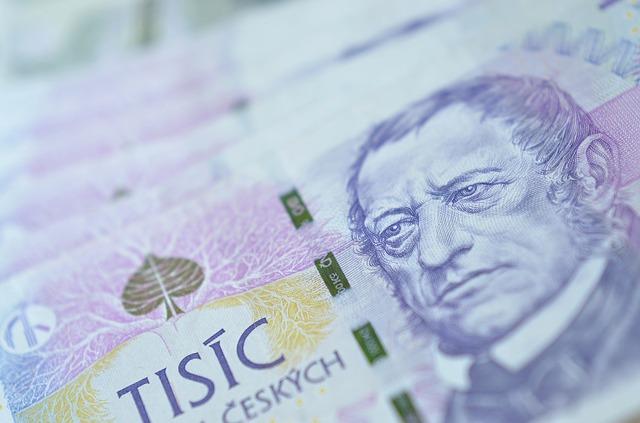 česká bankovka