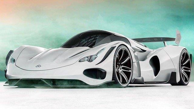 luxusní automobil